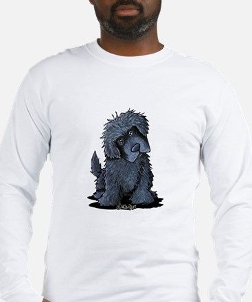 Black Newfie Long Sleeve T-Shirt