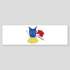 Majorette Bumper Sticker