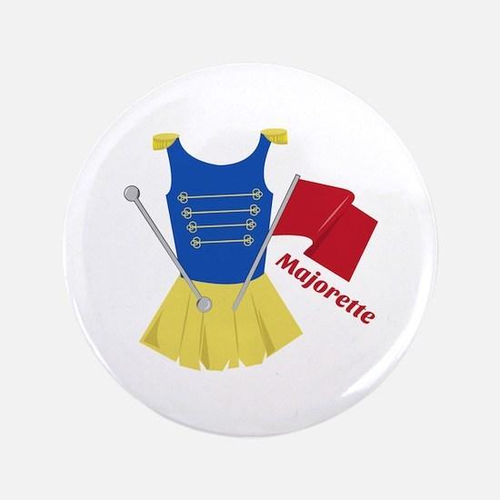 """Majorette 3.5"""" Button"""