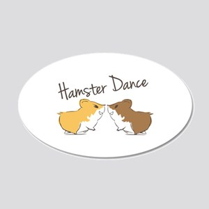 Hamster Dance Wall Decal