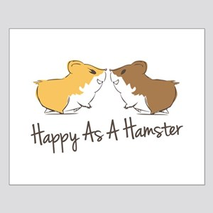 Happy Hamster Posters