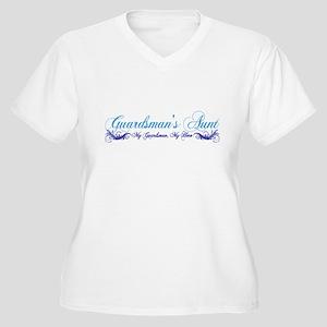 Guardsman's Aunt Women's Plus Size V-Neck T-Shirt