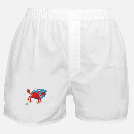 Dancing Crab Boxer Shorts
