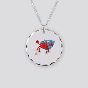 Dancing Crab Necklace