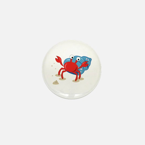 Dancing Crab Mini Button