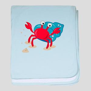 Dancing Crab baby blanket