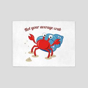 Average Crab 5'x7'Area Rug
