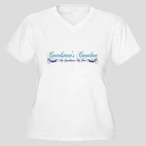 Guardsman's Grandma Women's Plus Size V-Neck T-Shi