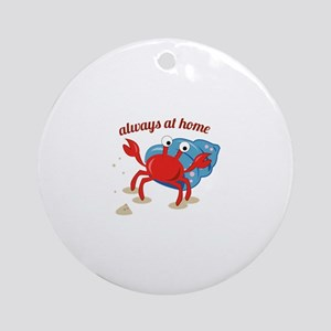 Always at Home Ornament (Round)