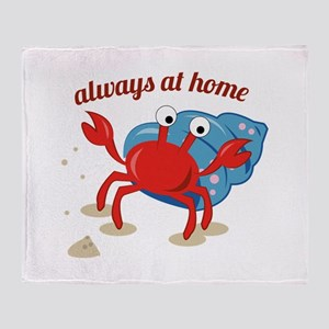 Always at Home Throw Blanket