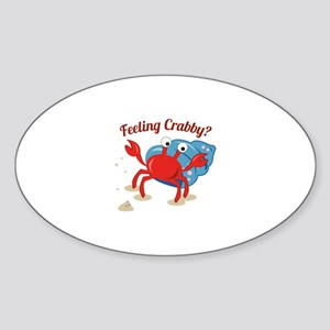Feeling Crabby? Sticker