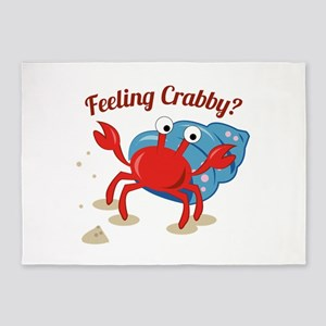 Feeling Crabby? 5'x7'Area Rug
