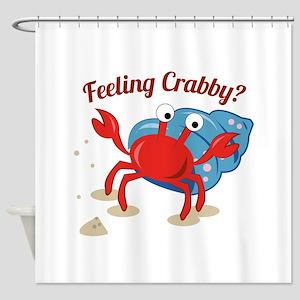 Feeling Crabby? Shower Curtain