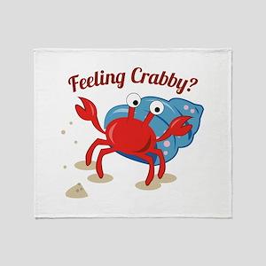 Feeling Crabby? Throw Blanket