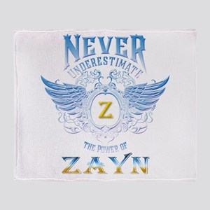 never underestimate the power of Zay Throw Blanket