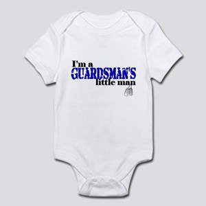 Guardsman's Little Man Infant Bodysuit