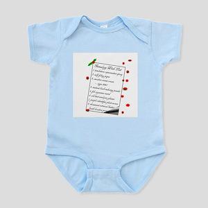 Genealogy Wish List Body Suit