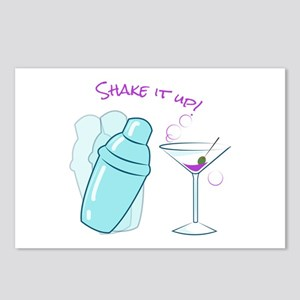 Shake it Up Postcards (Package of 8)