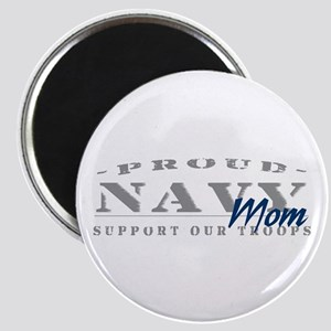 Proud Navy Mom (blue) Magnet