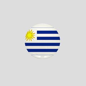 uruguay flag Mini Button