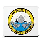 USS McKEE Mousepad
