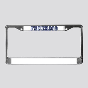 FEDERICO University License Plate Frame