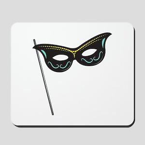 Hand Held Mask Mousepad