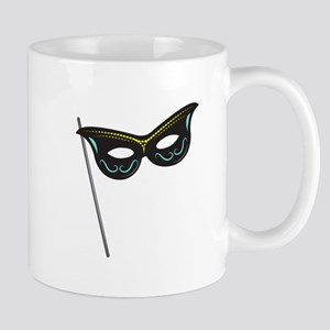 Hand Held Mask Mugs