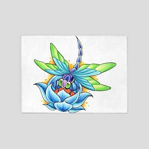 Tattoo 5'x7'Area Rug