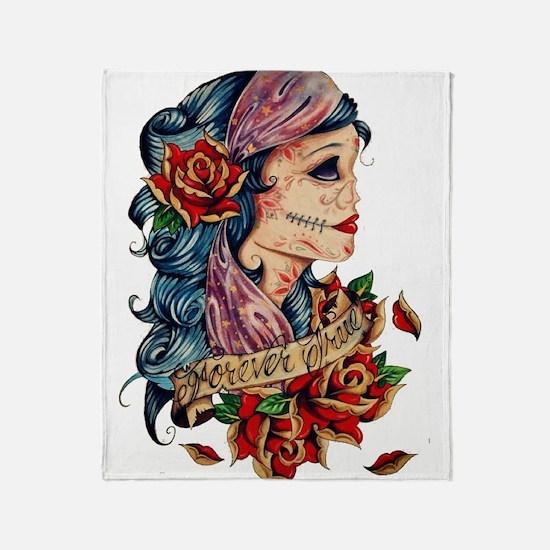 Tattoo Throw Blanket