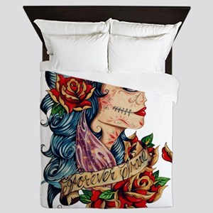 Tattoo Queen Duvet
