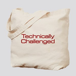 Technically Challenged Tote Bag
