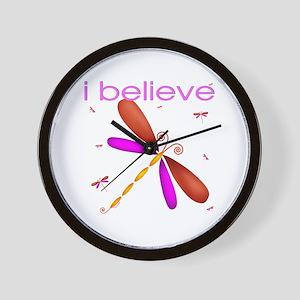 Beautiful dragonflies Wall Clock