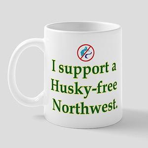 Husky Free NW Mug