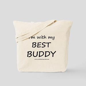 Best Buddy Tote Bag