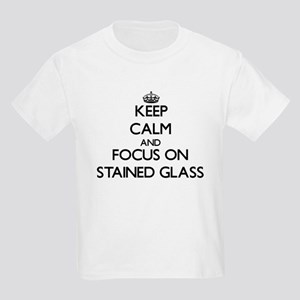 Keep Calm and focus on Stained Glass T-Shirt