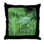 Tree Hopper on Pine Throw Pillow