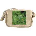 Tree Hopper on Pine Messenger Bag