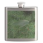 Tree Hopper on Pine Flask