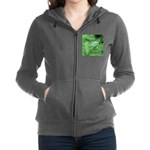 Tree Hopper on Pine Women's Zip Hoodie