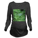 Tree Hopper on Pine Long Sleeve Maternity T-Shirt