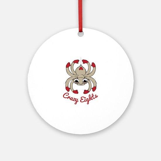 Crazy Eights Ornament (Round)