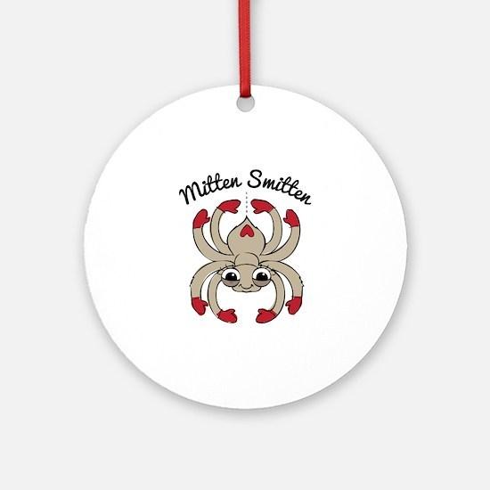 Mitten Smitten Ornament (Round)