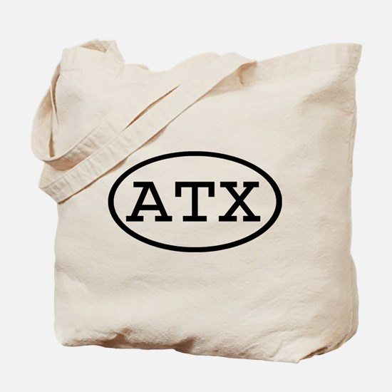 ATX Oval Tote Bag