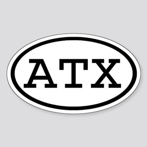 ATX Oval Oval Sticker