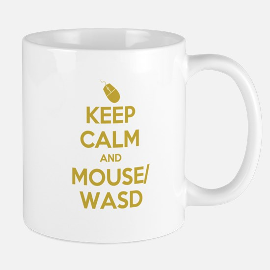 Keep Calm and Mouse WASD Mug