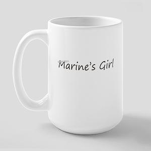 marines girl Large Mug