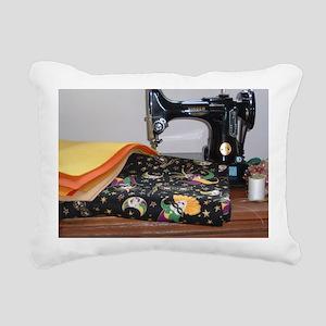 love to sew Rectangular Canvas Pillow