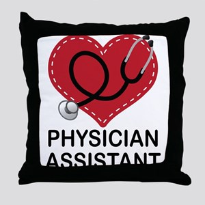 Physician Assistant Throw Pillow