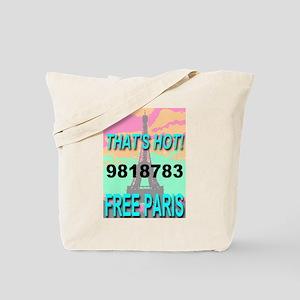 That's Hot! 9818783 Free Pari Tote Bag